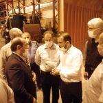 بازدید جمعی از نمایندگان کمیسیون اصل ۹۰ مجلس از روند خط تولیدات لوله سازی اهواز