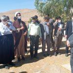 بازدید فرماندار و جمعی از مدیران ادارات مسجدسلیمان از روستاهای بخش گلگیر